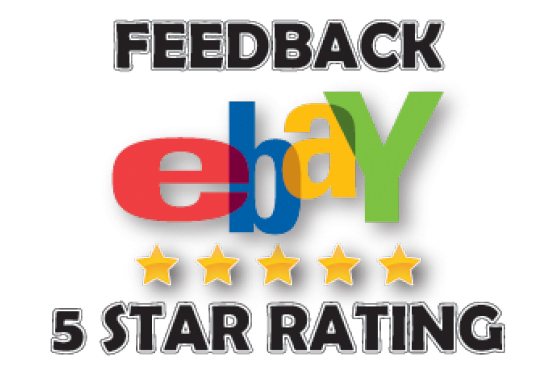 Leave outstanding ebay feedback or product reviews