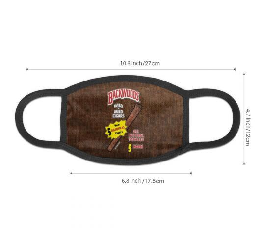 Original Backwoods Cigars Full Print Design Face Mask