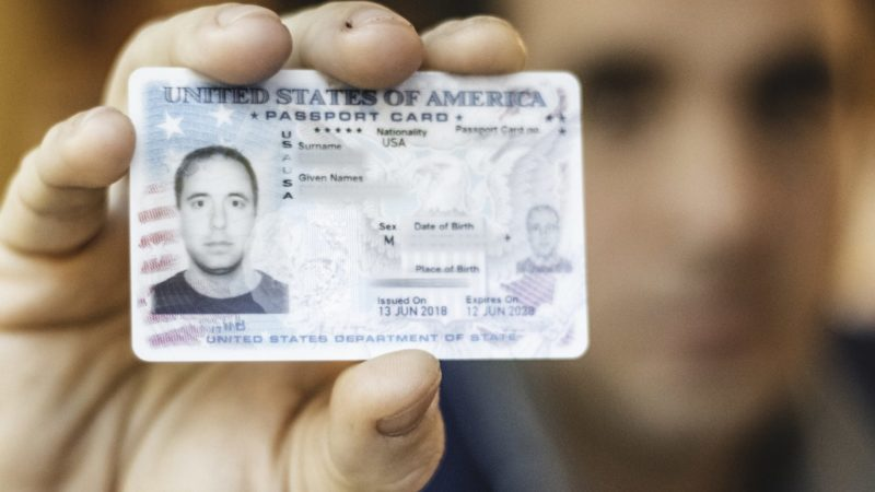 USA HD Driving License, Passport, Holder Selfie 100%
