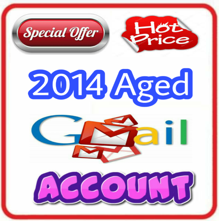 Old Aged Gmail Google Account Created on 2014