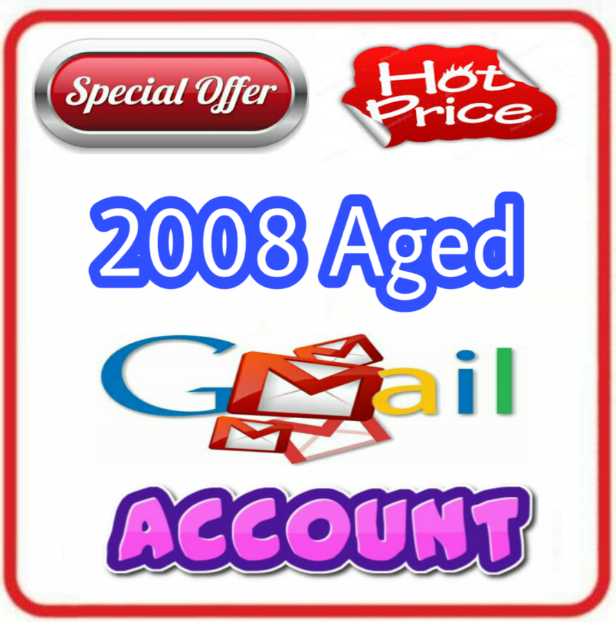 Old Aged Gmail Google Account Created on 2008