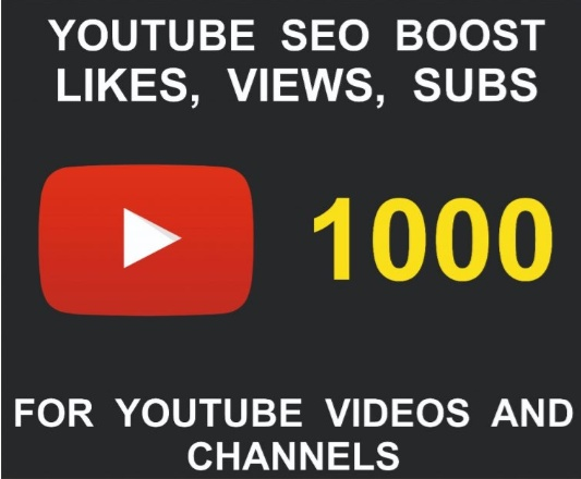 Youtube Views, Subscribers, Likes, Choose Quantity