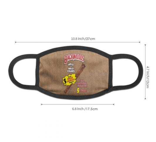 Sweet Aromatic Backwoods Cigars Full Print Face Mask