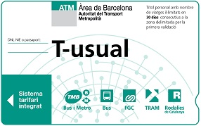 T-usual card