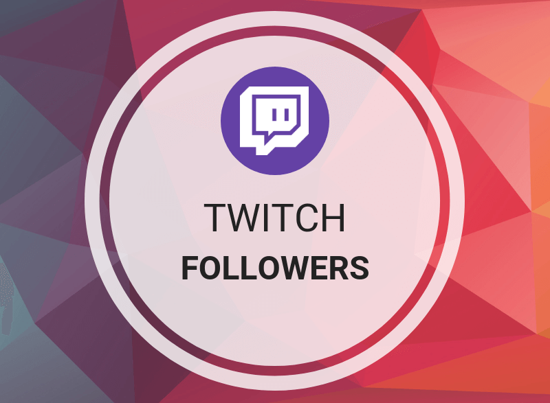 50 Twitch Follower for your Account fast and easy
