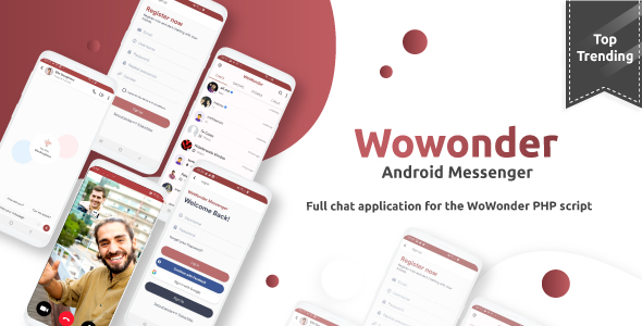 Mobile Application for WoWonder Social Script