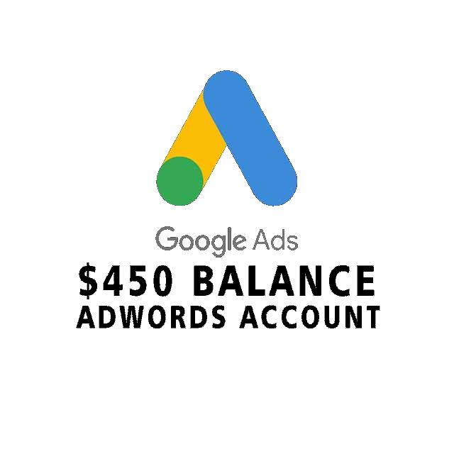 $450 Google Ads account - Ready To Use