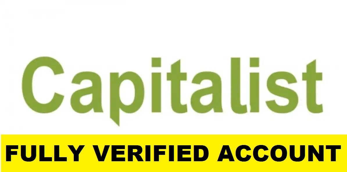 Fully Verified Capitalist.net Account – RU $33