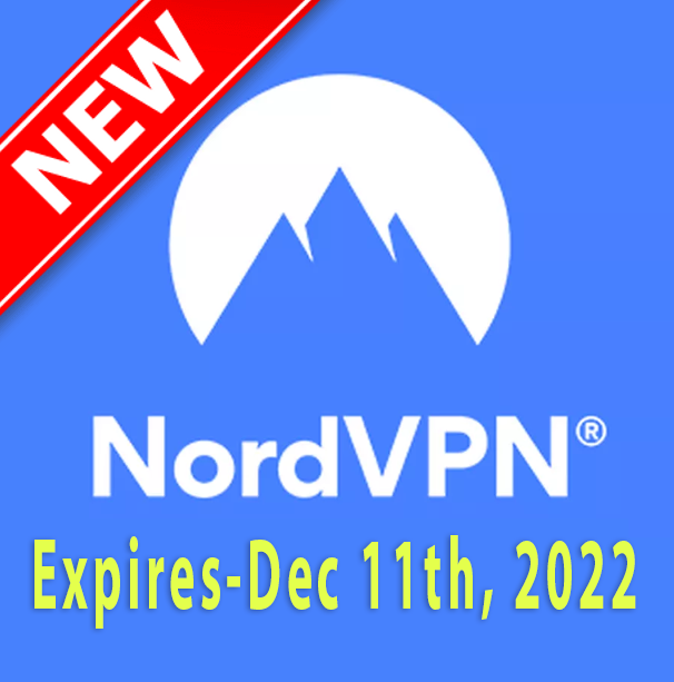 Nordvpn Premium Account,nordVPN USA– Expires 11-12...