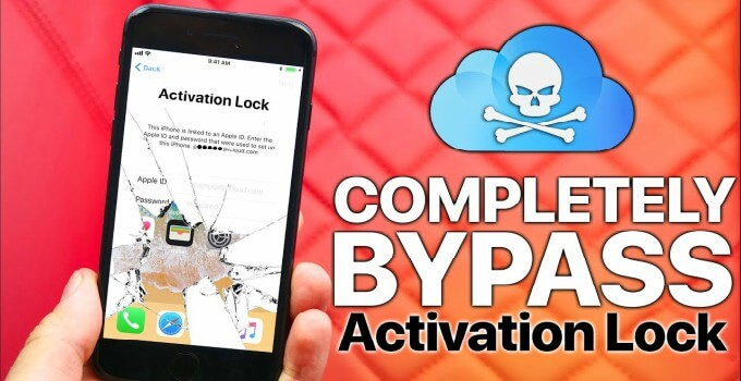 ICLOUD BYPASS WITH NETWORK UNLOCK IPHONE 8 TO 8P