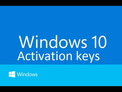 Windows 10 keys professional and enterprise