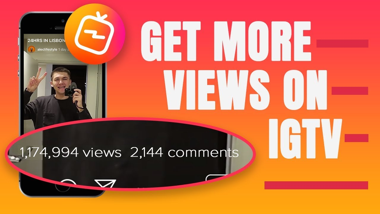 10000 IGTV Views fast and easy