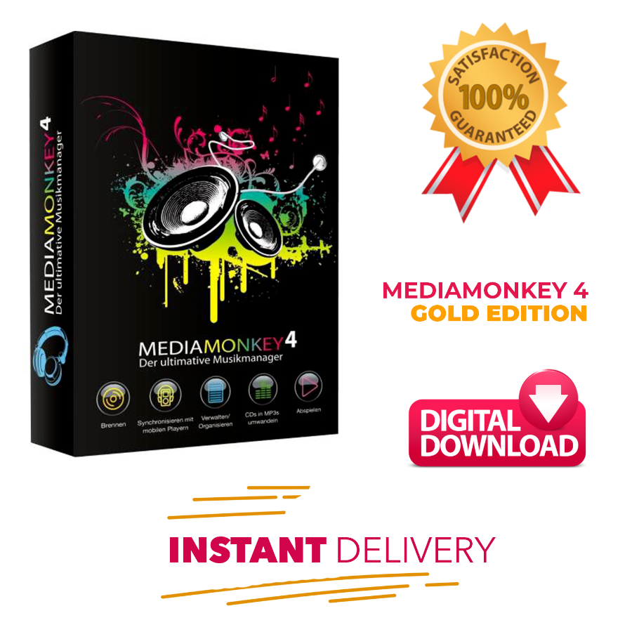 MediaMonkey V4 Gold Edition 2019 Full Version License