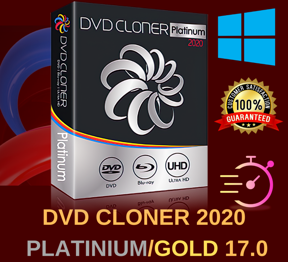 DVD Cloner 2020 Platinum 17.0 Lifetime License Windows