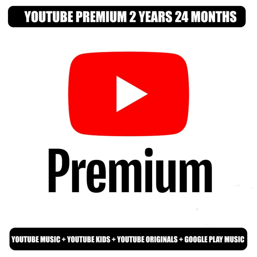 Youtube Premium + Youtube Music 2 Years | NEW Account |