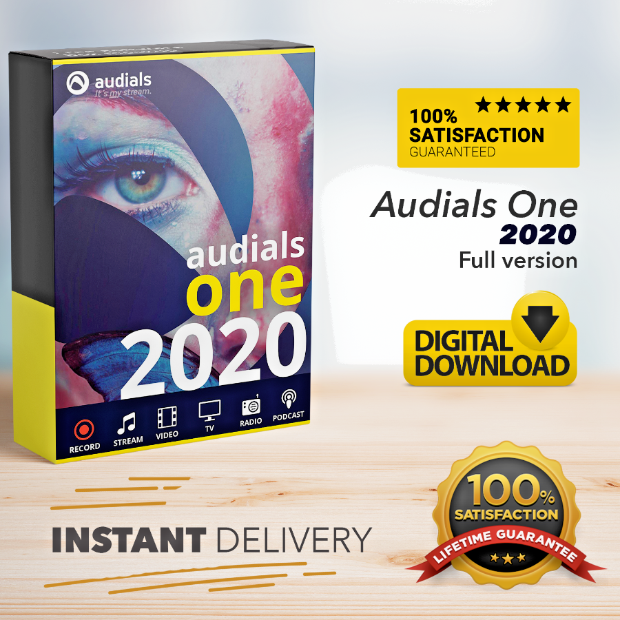 Audials One 2020 Platinum Official Version Lifetime Key