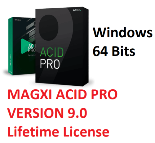 NEW MAGIX ACID PRO 9  FULL License  Digital Download