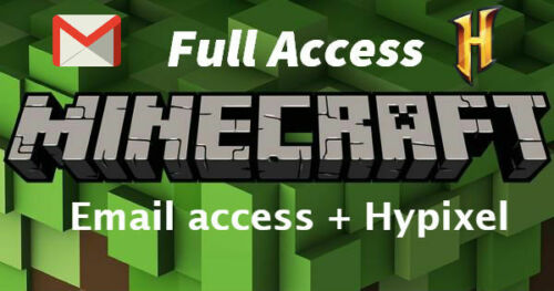 Minecraft Premium Account (Java) PC/MAC ✅ FULL ACCESS
