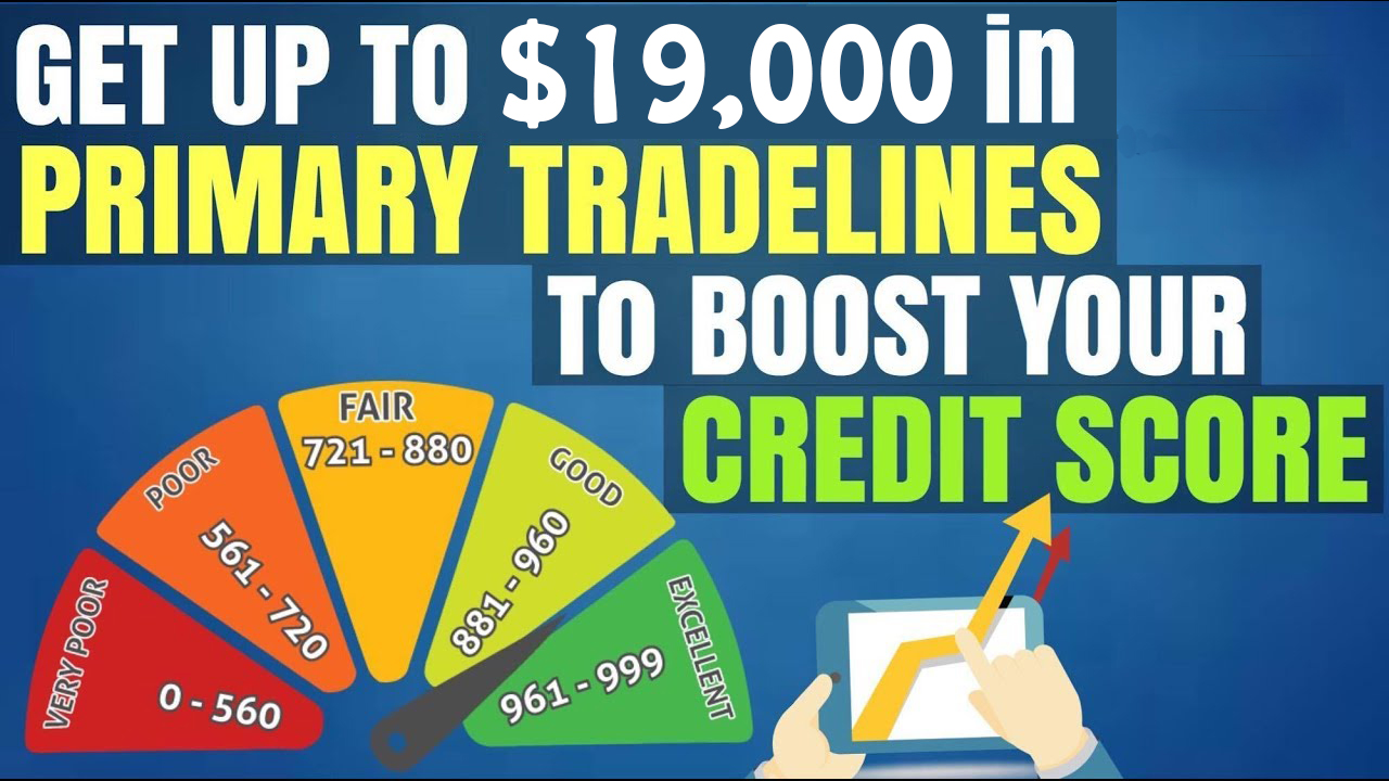 Primary Tradelines To Boost your Credit