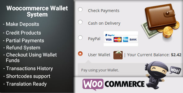 WooCommerce Own Wallet