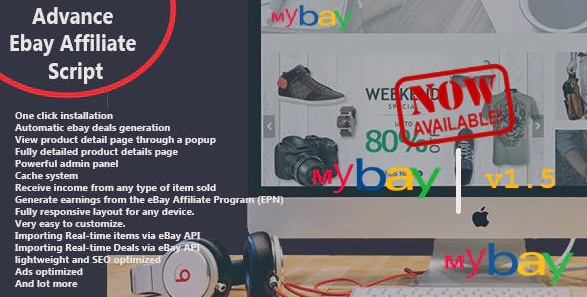 Mybay - Fully Automated Advanced eBay Affiliate Script