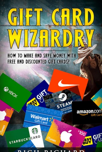 Gift card wizardry