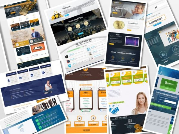 50 Professional Goldcoders Hyip Manager Theme Only 129$
