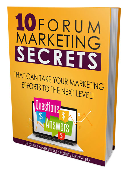 10 Forum Marketing Secrets