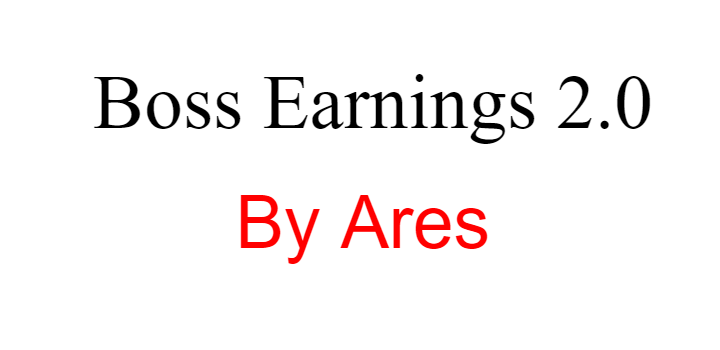 Boss Earnings 2.0