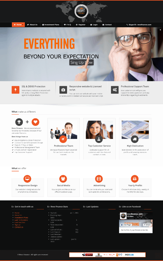 GoldCoders Hyip Template 13