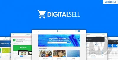 Digital Sell Marketplace - Digital Goods Store