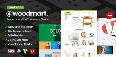 WoodMart v5.0.1 - WordPress Online Store Template