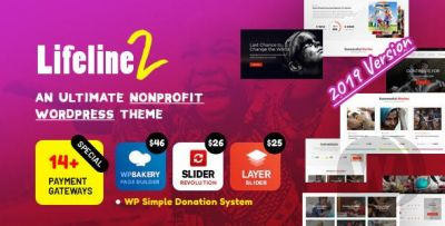 Lifeline 2 - WordPress Charity Theme Template