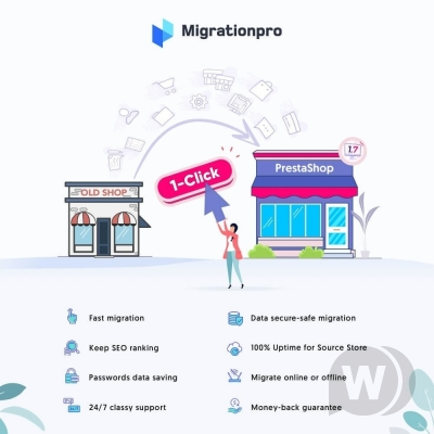 MigrationPro- PrestaShop Upgrade and Transfer Tool