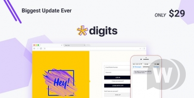 Digits - Registration via SMS WordPress