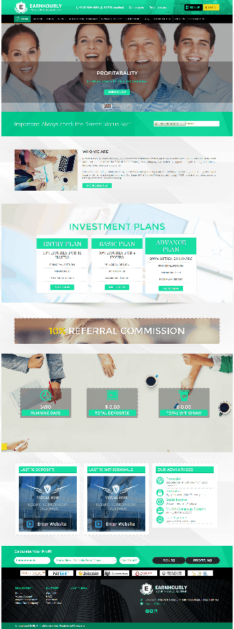 GoldCoders Hyip Template 20