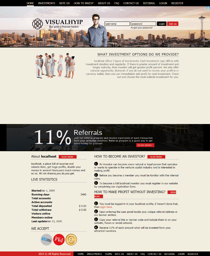 GoldCoders Hyip Template 23