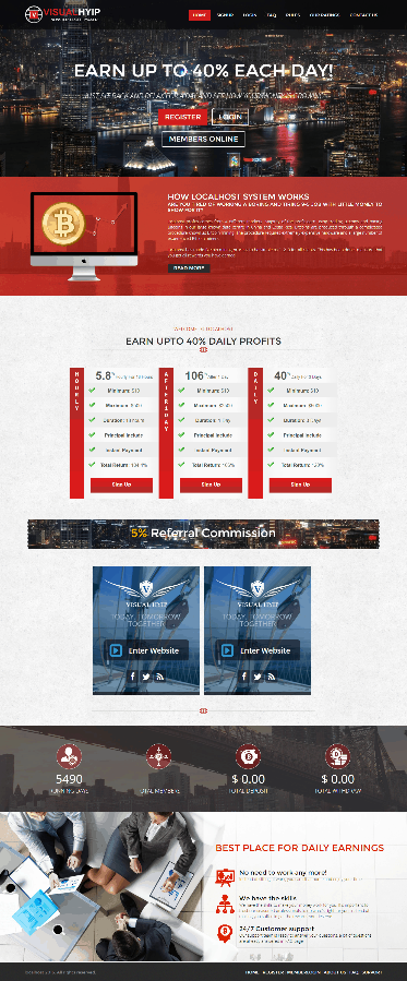GoldCoders Hyip Template 26