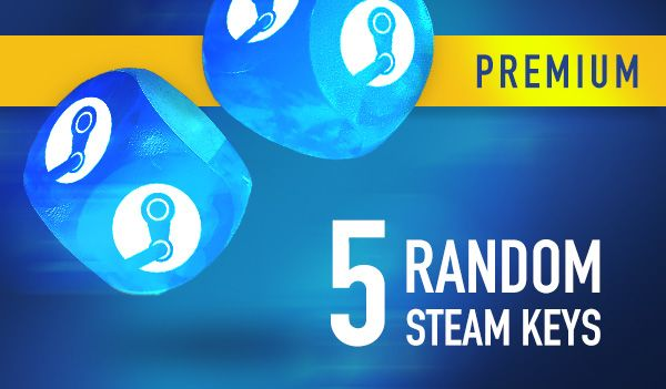 Random PREMIUM 5 Steam Keys | GLOBAL