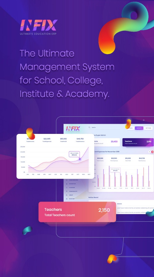 Infix School Management System Software