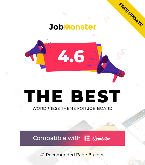 Jobmonster v4.6.3 - WordPress job board template