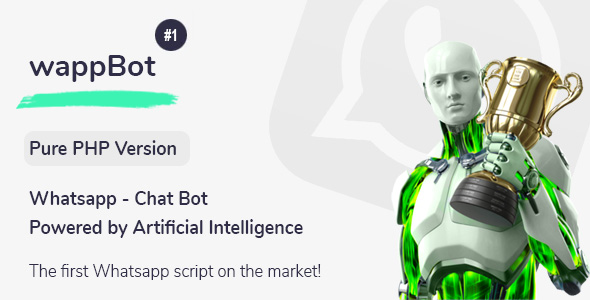 wappBot - Chat Bot Powered by Artificial Intelligence