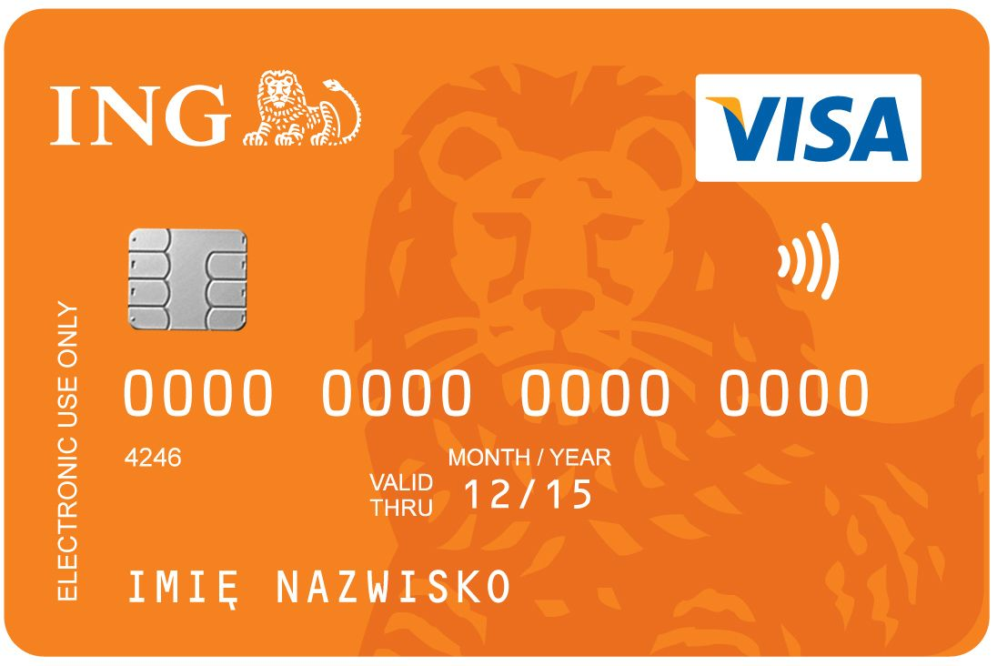 ING bank account (real bank)