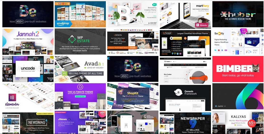 1,600 PREMIUM THEMES & PLUGINS –upd. 2020 - GP...