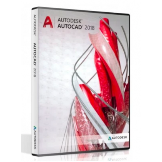 AutoCAD 2018 Software - Windows - 3 years license