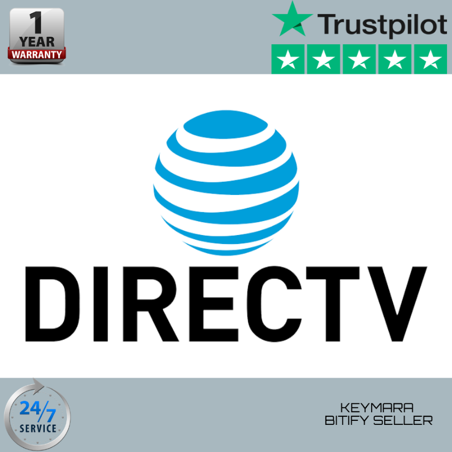 DIRECTV PREMIER | 330+ CHANNELS | 1 Year warranty