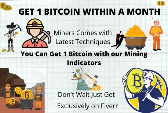 I Will Do 1 Bitcoin Mining for you