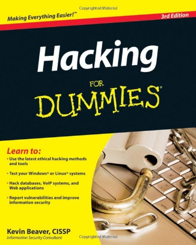 Hacking for Dummies  3rd, 4th, 5th Ed + Bonus 6th Ed.