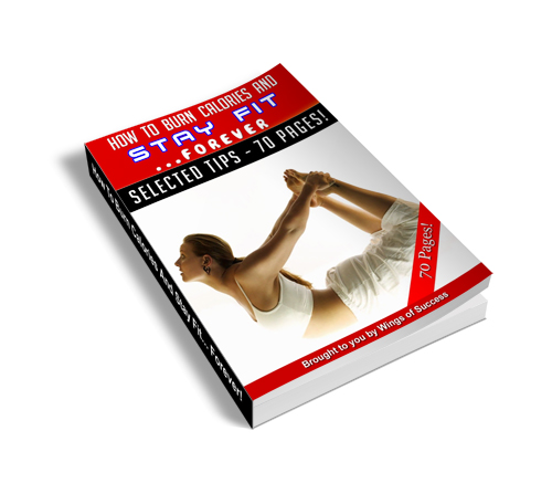 How to burn calories and stay fit forever - ebook