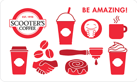 Scooters Coffee - $25.00 [Instant PDF]